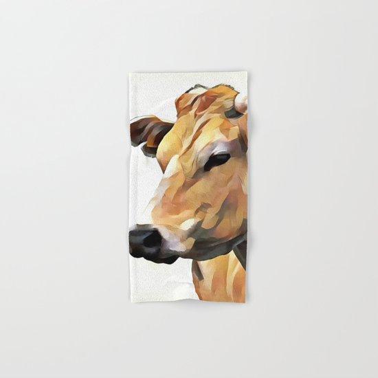 Cow Hand & Bath Towel