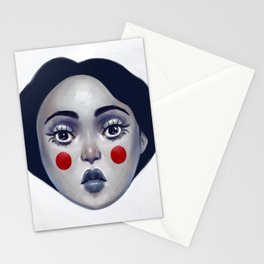 Portrait of Pierrette  Stationery Cards