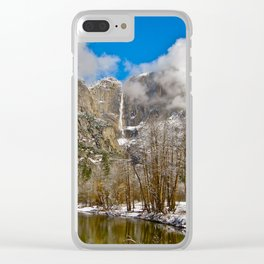 Yosemite National Park Clear iPhone Case