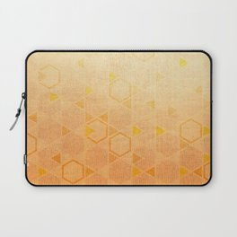Rose Gold Abstract Laptop Sleeve