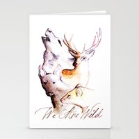 marauders Stationery Cards featuring The Marauders - We Are Wild by TheOddOwl