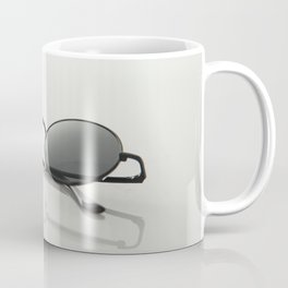 MINIMAL - GLASSES - CIRCLE - LIGHT - TRANSMITTANCE - GLASS - MODERN Coffee Mug