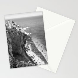 Cliffs along Cape Point, South Africa Stationery Cards