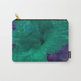 A Hibiscus Inversion Carry-All Pouch
