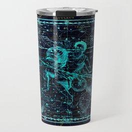 Aquarius Constellation Travel Mug