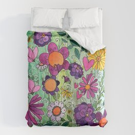 Purple Plum Parfait Comforters