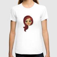 redhead T-shirts featuring Redhead by Lindella