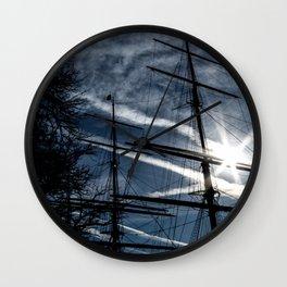 Sailing to the Sun Wall Clock