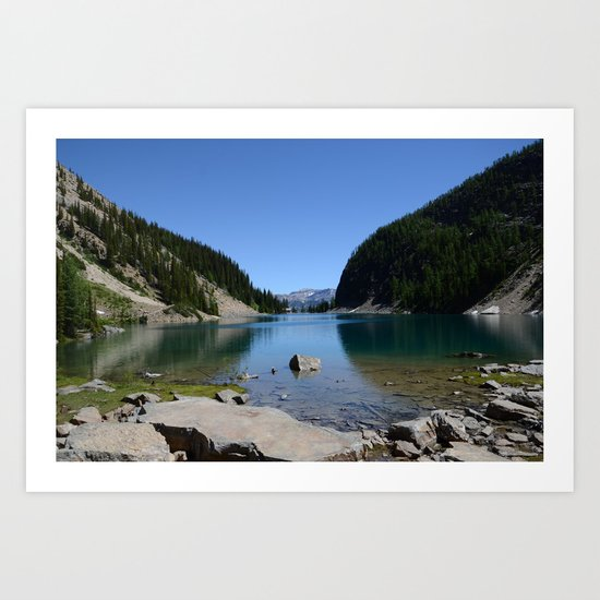 Lake Louise, Canada Art Print