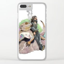 King Richard & Tad Cooper Clear iPhone Case