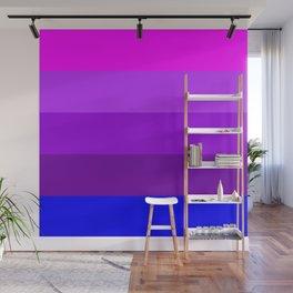 Transgender flag  by Jennifer Pellinen Wall Mural