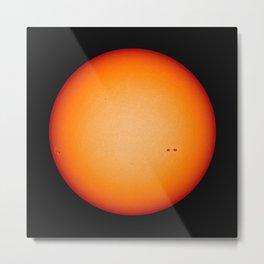 """""""Sun Spots"""" Solar Max 2013 Metal Print"""