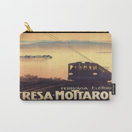 Vintage poster - Stresa-Mottarone Carry-All Pouch