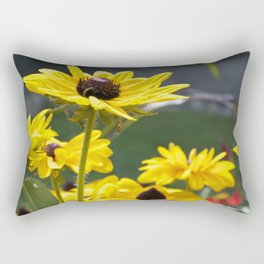 yellow flowers Rectangular Pillow