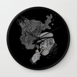 A Captains's Memory Wall Clock
