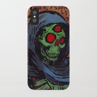 occult iPhone & iPod Cases featuring Occult Macabre by Chris Moet