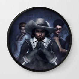 Musketeer Wall Clock