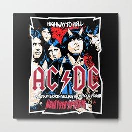 AC/DC - Highway to Hell Metal Print