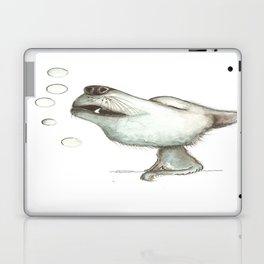 NORDIC ANIMAL - WOLFGANG THE WOLF / ORIGINAL DANISH DESIGN bykazandholly  Laptop & iPad Skin