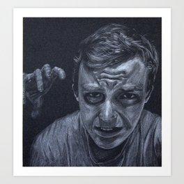 During the Dark Days Art Print