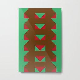 Another endless tower spitting fireballs of triangular shape Metal Print