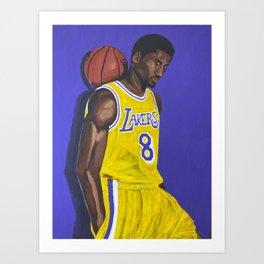 Bryant #8 Art Print