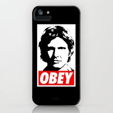 Obey Han Solo - Star Wars iPhone (5, 5s) Slim Case