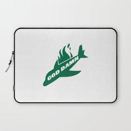 Jets God Dam Funny New York Football Laptop Sleeve