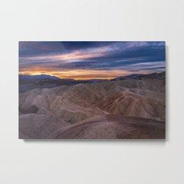 Death_Valley 5520 - Zabriskie_Point Sunrise Metal Print