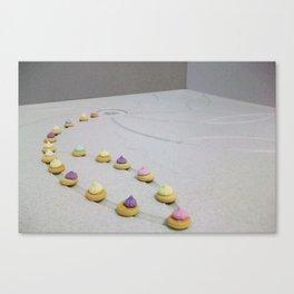 Shower Gems Canvas Print