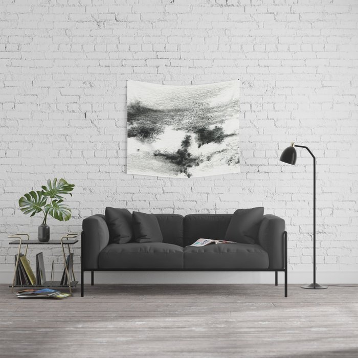 Black/white#2 Wall Tapestry