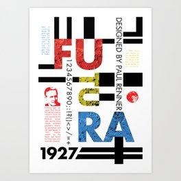 Futura Art Print