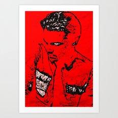 LEONARDO DICAPRIO BY Cd KIRVEN Art Print