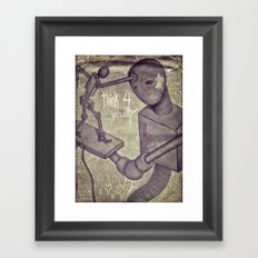 think4yourself Framed Art Print