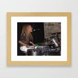 drumsticks Framed Art Print