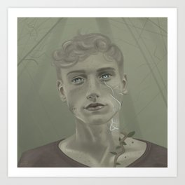 Cabeswater Eyes Art Print