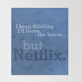 But Netflix Throw Blanket