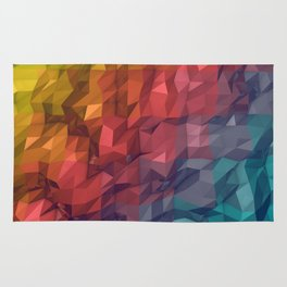 Poly Colours  Rug