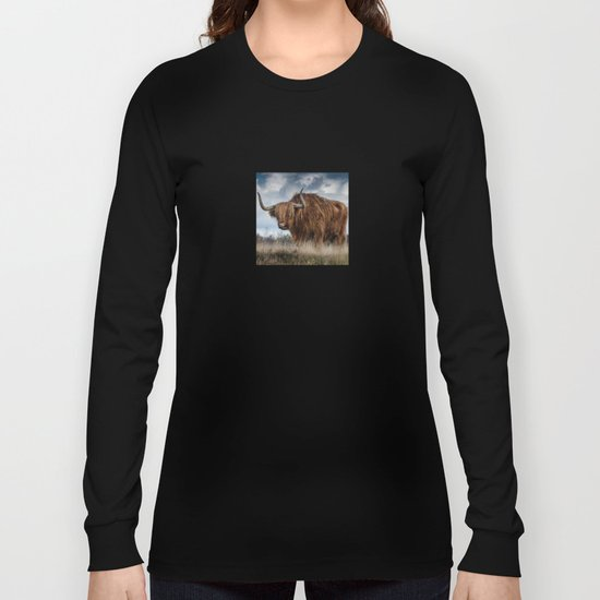 Bull animal 4 Long Sleeve T-shirt