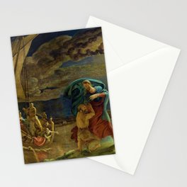 Peter Walks on Water by Philipp Otto Runge Stationery Cards