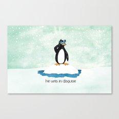 Mr. Penguin Canvas Print