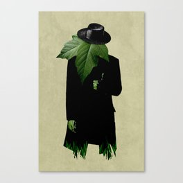 Mr.Green Thumb Canvas Print
