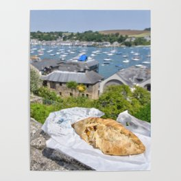 Falmouth Pasty Poster