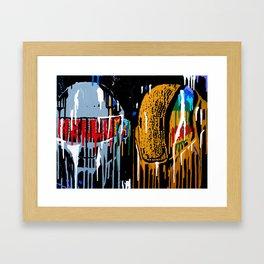 Daft Drip Framed Art Print