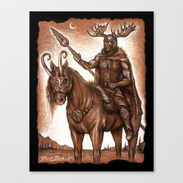The Hunter of the Vala Canvas Print
