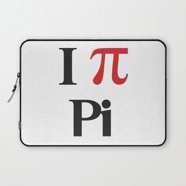 I Heart Pi Laptop Sleeve