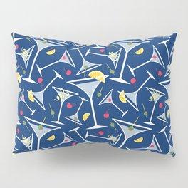 Blue Martinis Pillow Sham