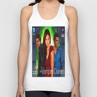 vampire diaries Tank Tops featuring The Vampire Diaries by Don Kuing
