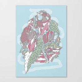 Dream Town Canvas Print