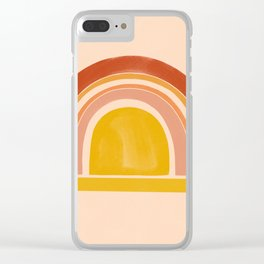 autumn sunshine 1 Clear iPhone Case